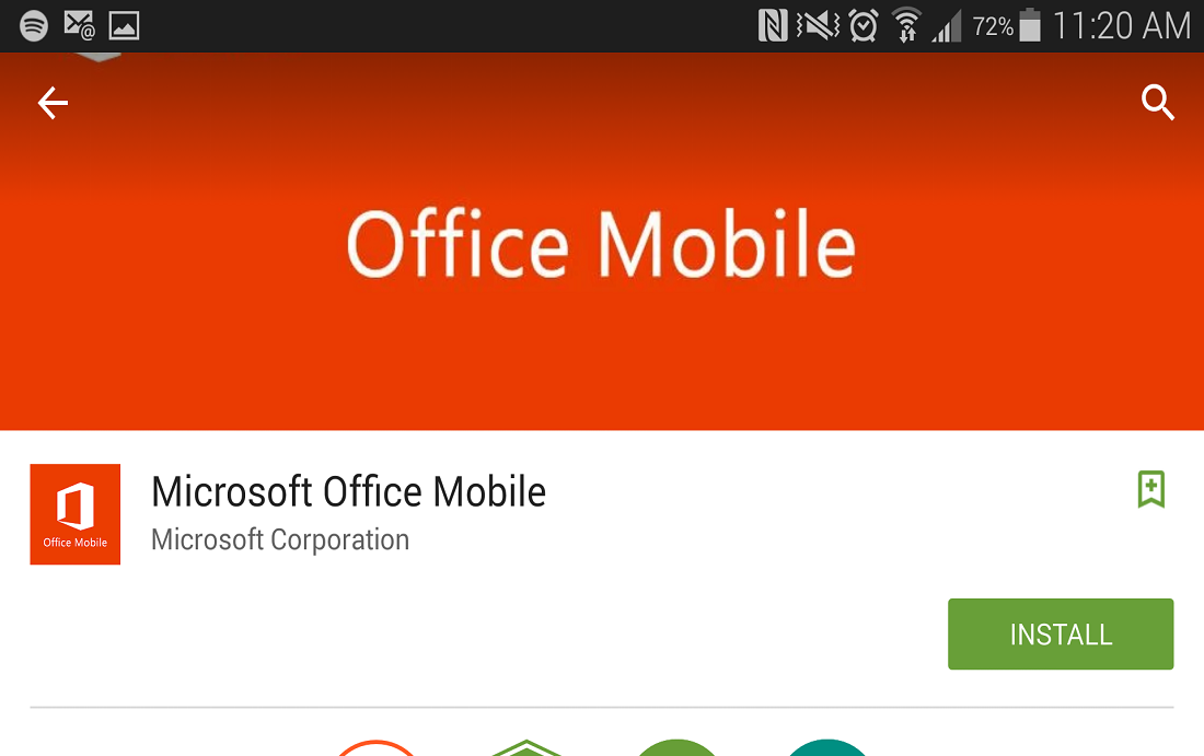 Microsoft Office Mobile - Free