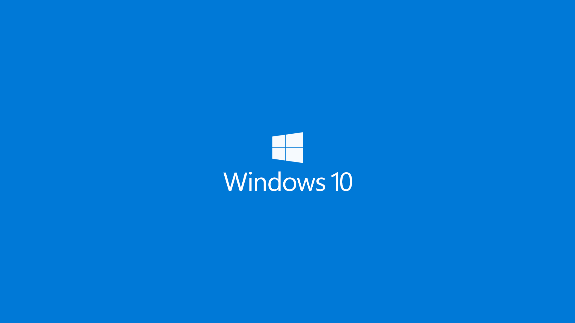 Windows 10 blue background desktop background
