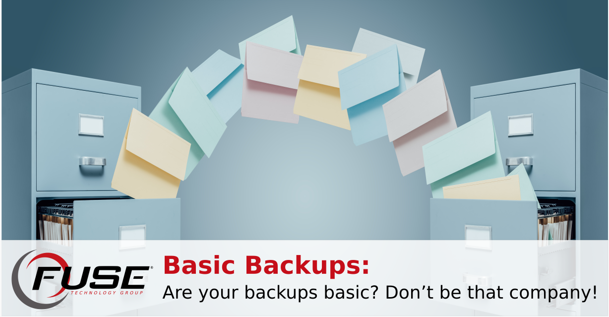 backup using tranferred folder example